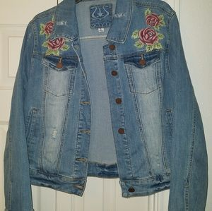Jean Jacket Size Large Preowned